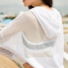 Load image into Gallery viewer, White Mesh Pullover Top | Daniki Limited