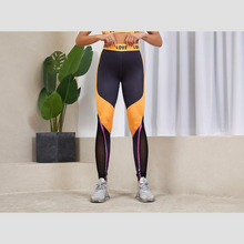 Load image into Gallery viewer, Blue/Yellow Chic Fitness Set | Daniki Limited