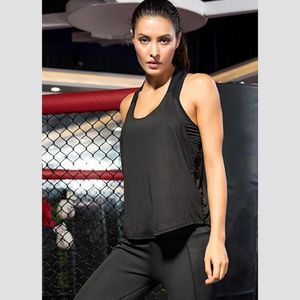 Black Energy Fitness Top | Daniki Limited