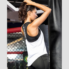 Load image into Gallery viewer, White Energy Fitness Top | Daniki Limited