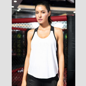 White Energy Fitness Top | Daniki Limited