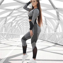 Load image into Gallery viewer, Grey Long Sleeve Summer Set | Daniki Limited