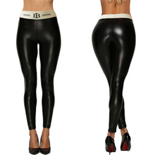 Load image into Gallery viewer, Black Letter Belt Leggings | Daniki Limited
