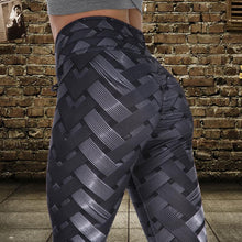 Load image into Gallery viewer, Black Steel Lattice Leggings | Daniki Limited