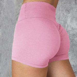 Pink Scrunch Fitness Shorts | Daniki Limited