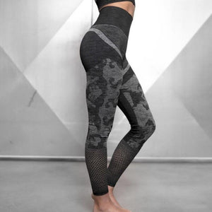 Black Cool Camo Fitness Set | Daniki Limited