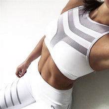 Load image into Gallery viewer, White Armor Sports Bra | Daniki Limited