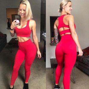 Red Firm Support Fitness Set | Daniki Limited