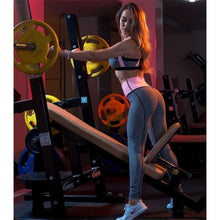 Load image into Gallery viewer, Grey Patchwork Fitness Set | Daniki Limited