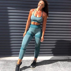 Teal Ultimate Seamless Set | Daniki Limited