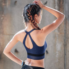 Load image into Gallery viewer, Blue Embrace Sports Bra | Daniki Limited
