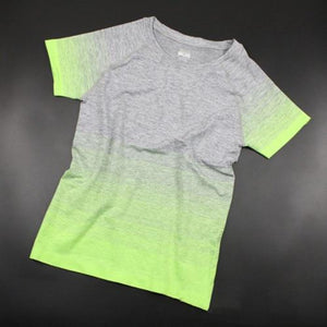 Green Ombre Fitness Top | Daniki Limited