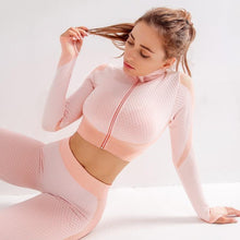 Load image into Gallery viewer, Pink Supreme Long Sleeve Set | Daniki Limited