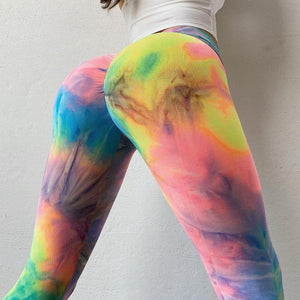 Rainbow  Iridian Leggings | Daniki Limited