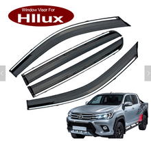 Load image into Gallery viewer, HILUX 2016-2020 Weather Shield/Sun Visor/Monsoon SR/SR5/Cruiser
