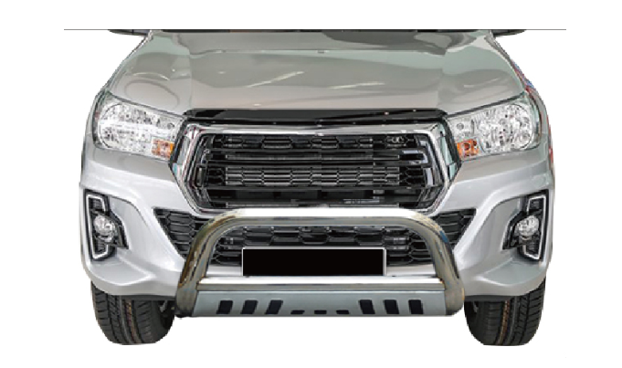 Hilux 2016-2020 Front bull bar Stainless Steel