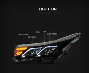 Corolla 2014-2017 Headlight LED
