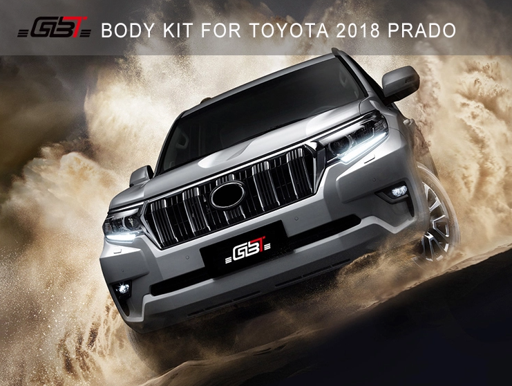 Prado 2018 Face-Lift Upgrade kit(Suits 2011-2017 Prado)