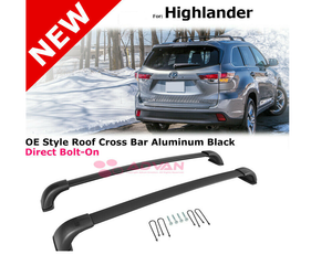 Highlander 2016-2020 Roof Racks (2pcs)(Members 20% Off)