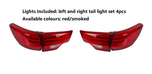 Highlander 2015-2016 Led Tailght Set 4pcs Red/Smoked Available(Members 20% Off)