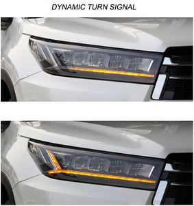 Highlander 2017-2020 Headlights LED with Dynamic Signal Lights (Pair 2pcs) (Members 20% Off)