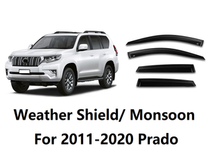 Prado 2011-2020 Weather Shield/ Monsoon (Full Set 4pcs)