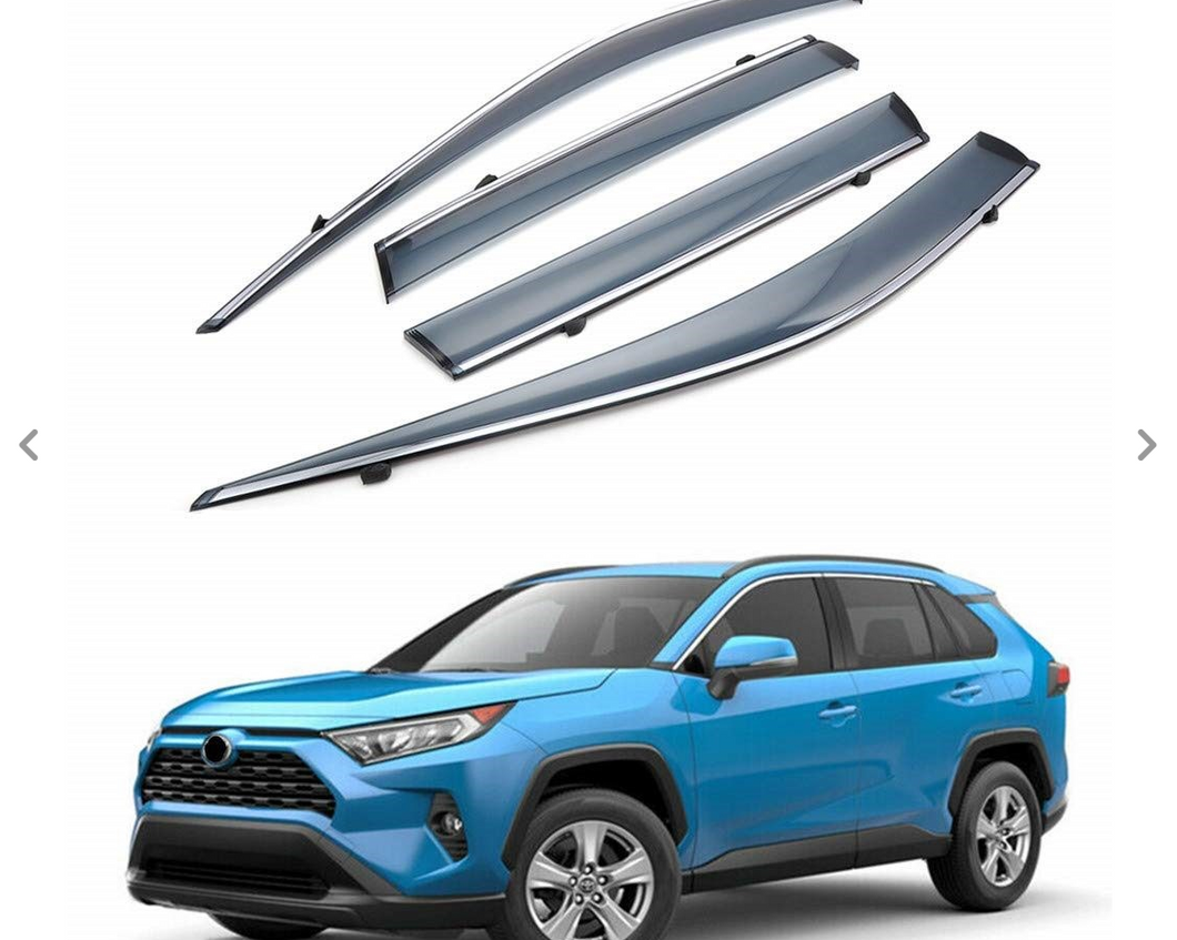 Rav4 2019+ Weather Shields/Monsoon