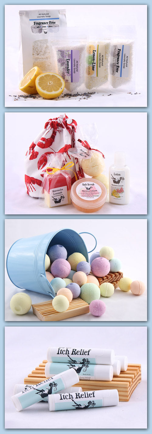 Collage of Bath Soaps
