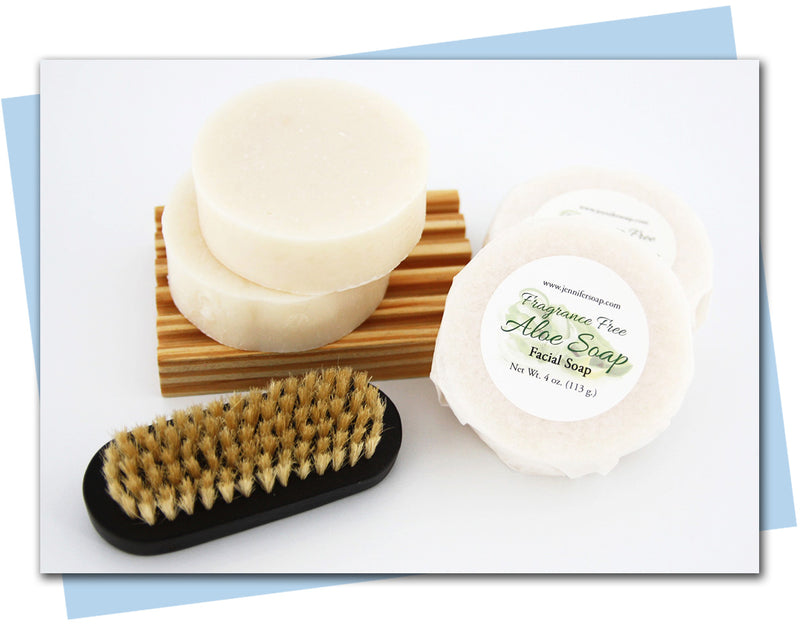 Aloe Facial Soap (Fragrance Free)