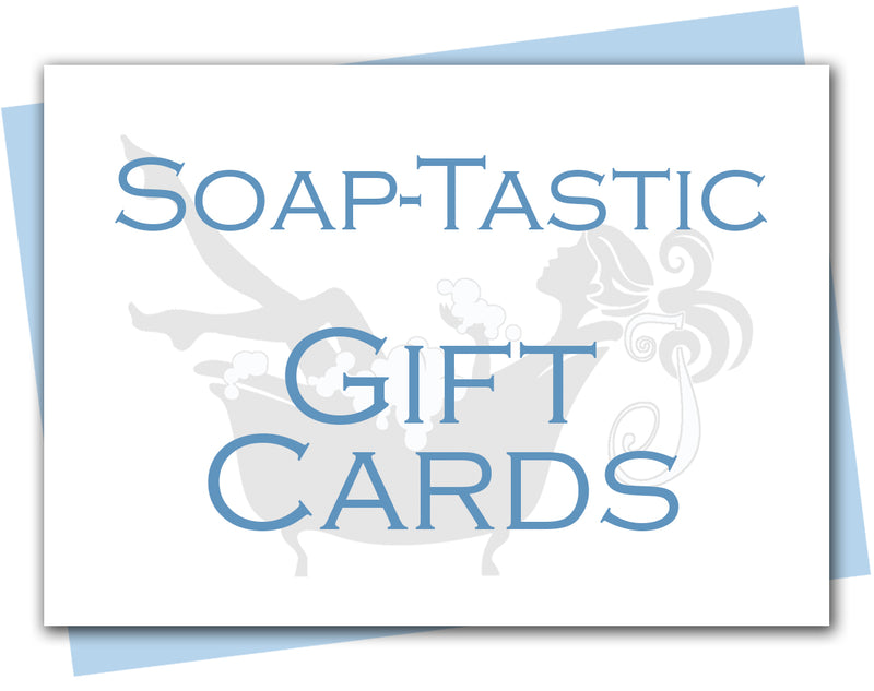 Soap-tastic Gift Cards