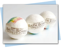 House Sorting Bath Fizzies (For the Magically Inclined)