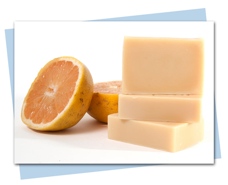 Pink Grapefruit Goat's Milk Soap