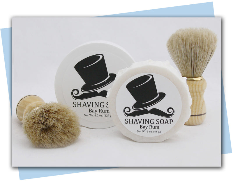 Shaving Soap: Bay Rum