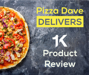 The next JUUL replacement? Read Pizza Dave's Full Review on the 1K Device!