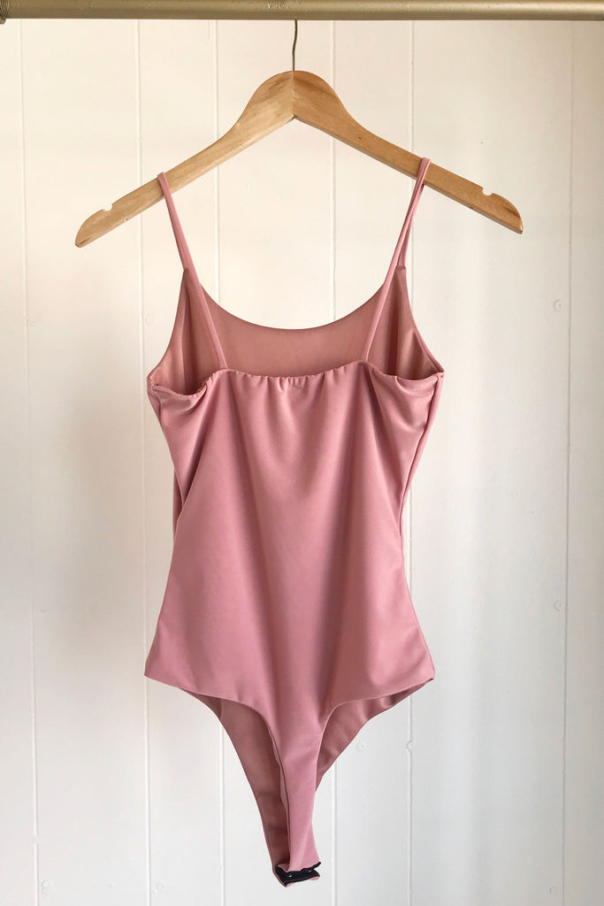 Cami Bodysuit - Blush