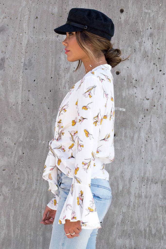 Gracie Floral Top