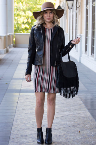 Bella Textured Knit Dress