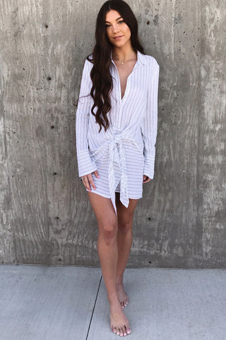 Seaside Striped Dress