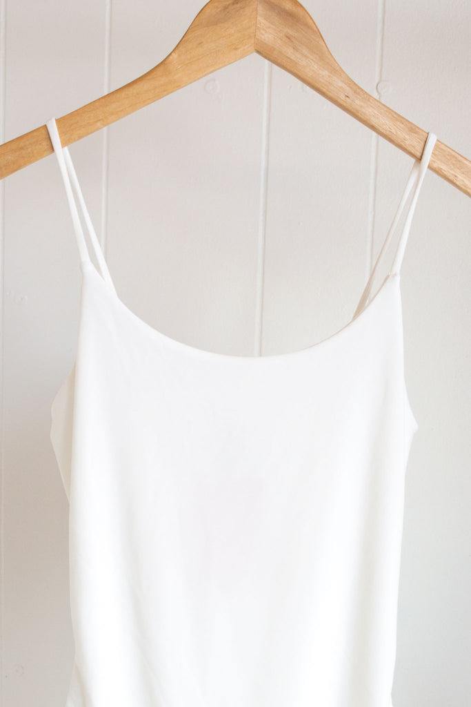 Cami Bodysuit - White