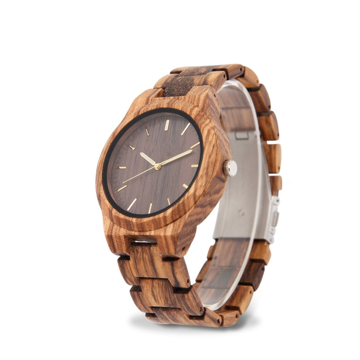 relogio wooden watch