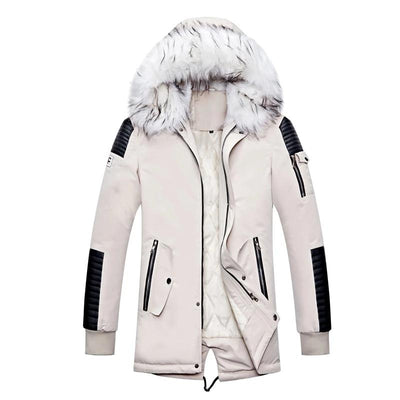 White Winter Parka