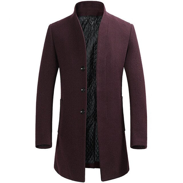 Bordeaux Peacoat