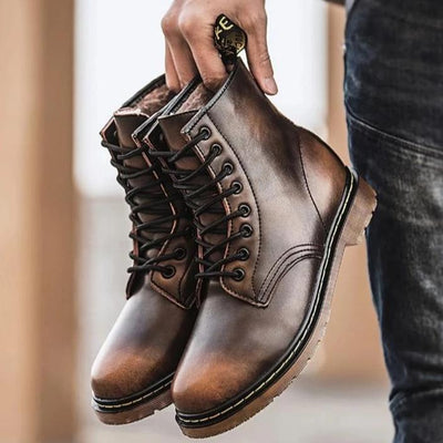 Men Retro Martins Boots