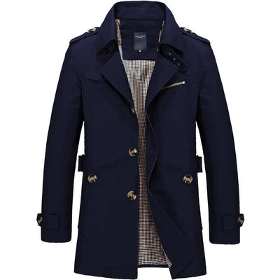 Silhouette Trench Coat