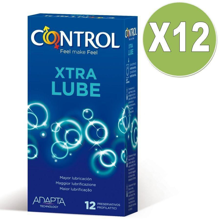 Control Especiales Control Extra Lube 12 Uds Pack 12 Uds