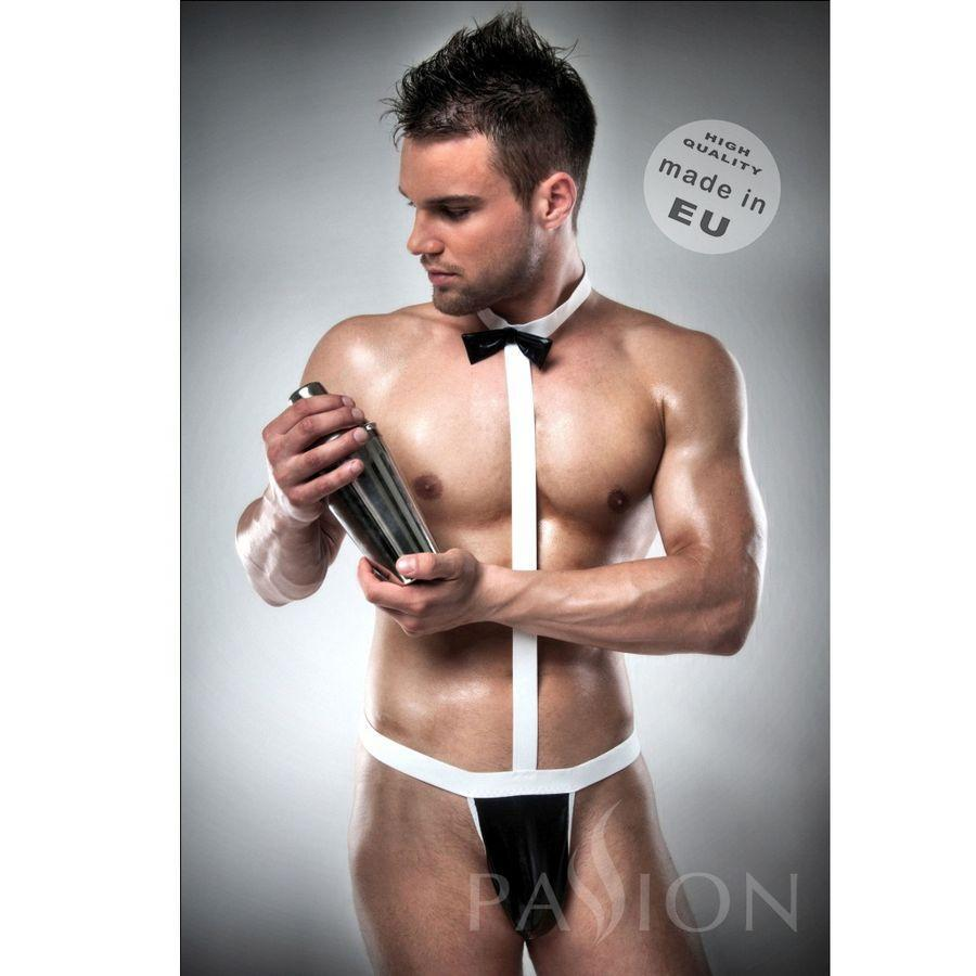 Passion Men Lenceria Hombre TALLA L/XL / TALLAS Disfraz Komplet 021 Sexy Camarero By Passion Men S/m