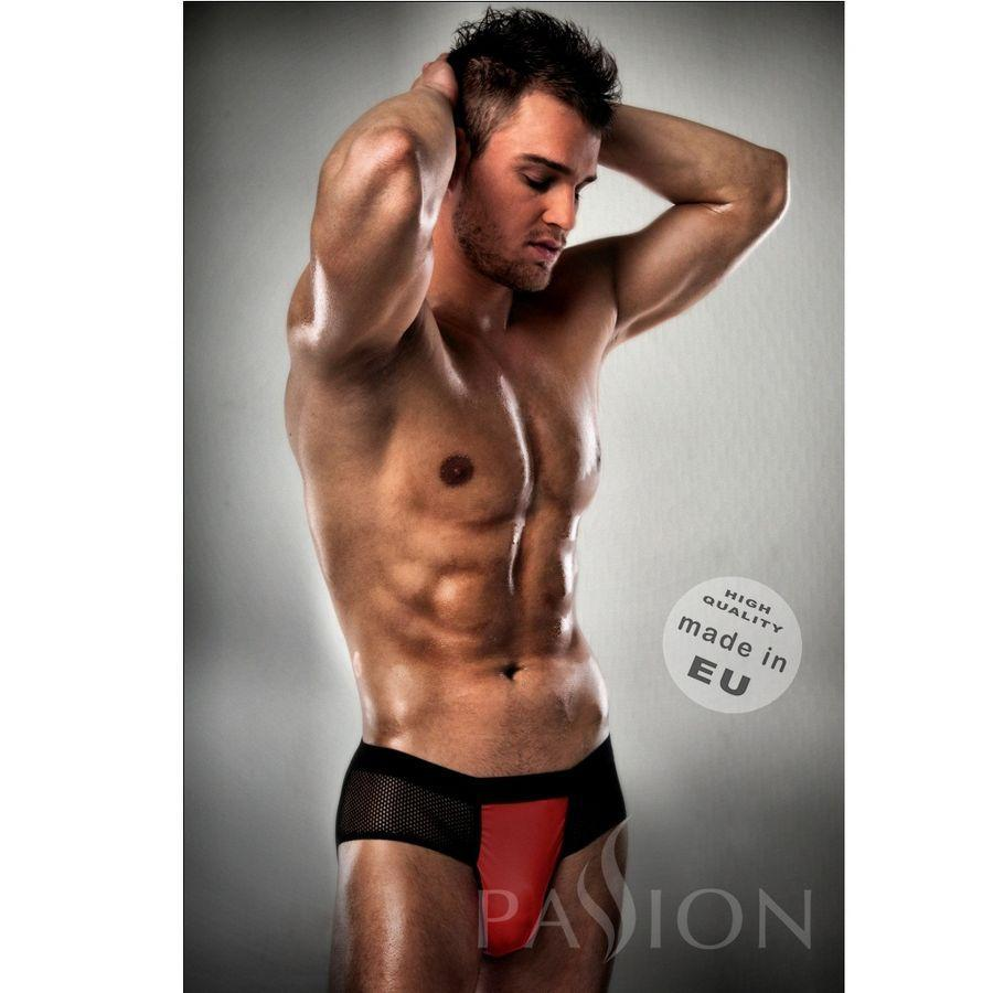 Passion Men Lenceria Hombre New Jockstrap 007 Rojo / Negro Passion Men S/m