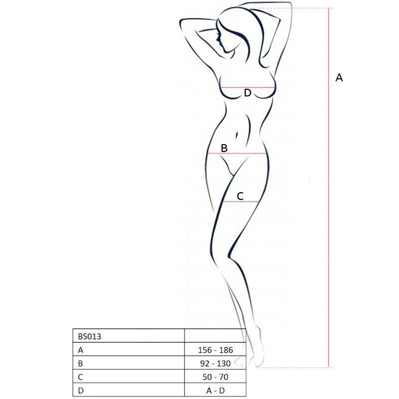 Passion Woman Bodystockings Catsuits/cuerpos En Red Passion Woman Bs013 Bodystocking Negro Talla Unica