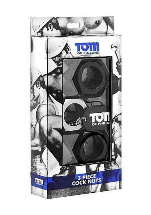 Tom Of Finland Accesorios Para El Pene Tom Of Finland Kit 3 Anillos