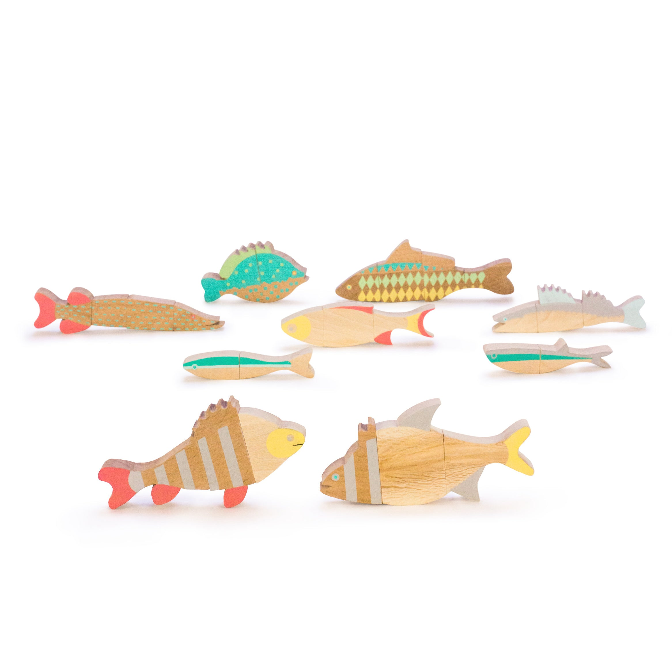 The fishes of Balaton<br>Magnetic jigsaw puzzle